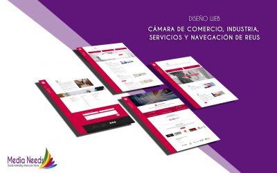La Cámara de Comercio, Industria y Navegación de Reus estrena nueva página web