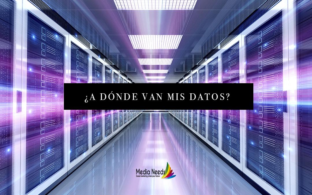 ¿A dónde van mis datos?